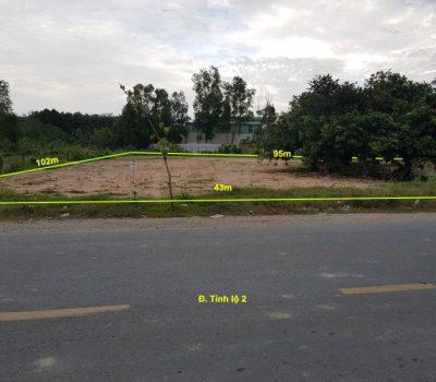 Bán đất kinh doanh cây xăng, vật liệu xây dựng xã Tân An Hội
