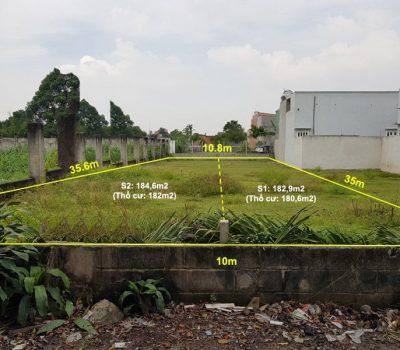Bán nền đất toàn bộ thổ cư ấp Cây Da, xã Tân Phú Trung, huyện Củ Chi
