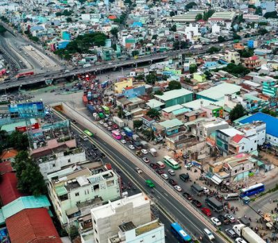 Tuyến cao tốc TP.HCM - Mộc Bài với 4 làn xe lưu thông. Ảnh: Quang Phương